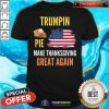 Pretty Make Thanksgiving Great Again Trumpkin Pie Flag US Shirt - Design By Togethertee.com