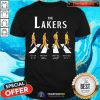 Top The Lakers Abbey Road Signatures Shirt - Design By Togethertee.com