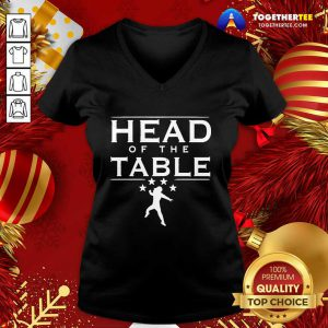 Roman Reigns Head Of The Table V-neck - Design By Togethertee.com