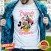 Cute Disney Toddler Girls Mickey And Friends Short Sleeve Shirt - Design By Togethertee.com