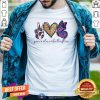 Cute Peace Love Butterflies Shirt - Design By Togethertee.com