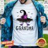 Funny Grandma Witch Hat Halloween Shirt - Design By Togethertee.com