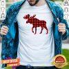 Premium Plaid Reindeer Moose Shirt - Design By Togethertee.com