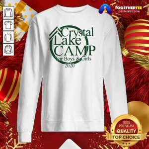 Awesome Crystal Camp Lake For Boys And Girls 2020 Sweatshirt - Design By Togethertee.com