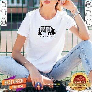 Top Baby Gronk Tampa Bay V-neck - Design By Togethertee.com