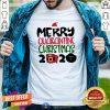 Top Merry Quarantine Christmas 2020 Shirt - Design By Togethertee.com