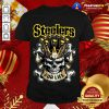Skull Pittsburgh Steelers For Life T-Shirt - Design By Togethertee.com