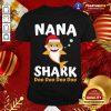 Nana Shark Christmas Mommy Shark Daddy Shark Shirt - Design By Togethertee.com