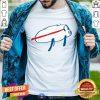 Josh Allen Buffalo Die Cut Vinyl Decal Shirt - Design By Togethertee.com