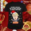 Santa Donald Trump Celebrate Christmas Don't Celebrate Christmas Celebrate Christmas Shirt - Design By Togethertee.com