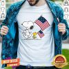 Snoopy And Woodstock Holding American Flag 4th Of July Shirt - Design By Togethertee.com