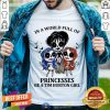 In A World Full Of Princesses Be A Tim Burton Girl Shirt - Design By Togethertee.com