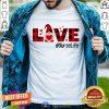 Gnome Love Valentine Nurse Life Shirt - Design By Togethertee.com