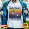School Is Important But Synchronized Swimming Is Importanter Vintage Shirt - Design By Togethertee.com