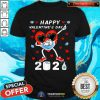 Dabbing Heart In A Mask Happy Valentines Day 2021 Shirt T-Shirt - Design By Togethertee.com