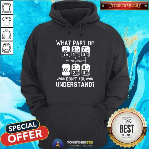 What Part Of Neutral Dont You Understand Hoodie