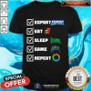 Esport Eat Sleep Game Repeat Shirt - Design By Togethertee.com