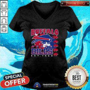 The Buffalo Bills Est 1960 V-neck
