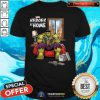 Marvel Heroes At Home Hulk Shirt - Design By Togethertee.com