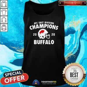 AFC East Division Champions 2020 Buffalo Bills Tank Top