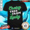 Crazy Tree Farm Lady Christmas Tree Merry Xmas Shirt - Design By Togethertee.com
