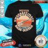Never Underestimate An Old Man With A Bass Guitar Vintage Shirt - Design By Togethertee.com