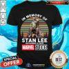 In Memory Of Stan Lee November 12 2018 Marvel Studios Signature Vintage Shirt - Design By Togethertee.com