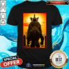 Godzilla Vs Kong Behold Your God Godzilla T Shirt
