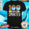 Face Mask 100 Days Smarter 2021 Shirt