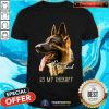 German Shepherd Is My Therapy Shirt - Design By Togethertee.com