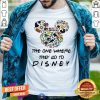 Cute The One Where They Go To Disney Shirt