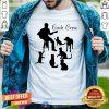 Funny Man Play Guitar And Cat Cash Crew Shirt
