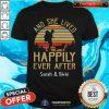 And She Lived Happily Ever After Sarah And Nikki Vintage Sunset Shirt - Design By Togethertees.com