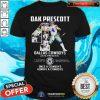 Dak Prescott 4 Dallas Cowboys 2016 Present Once A Cowboys Always A Cowboys Signature Shirt - Design By Togethertees.com