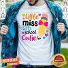 Colorful Little Miss 5th Grade Cutie Shirt