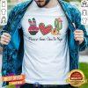 Colorful Peace Love Cinco De Mayo 2021 Mexican Party Shirt
