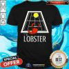 Cool The Lobster Play Tennis Shirt