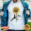 Grateful Cat And Sunflower Shirt