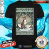 Nice Staffordshire Terrier Once Upon A Time Boy Vertical Poster Shirt