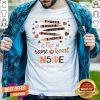 Top The Same Heart Inside Kindergarten Teacher Crayon Shirt