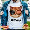 Ameowica Cat Glass Shirt