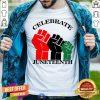 Celebrate Juneteenth Color Hands Shirt