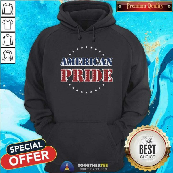 Cool American Pride Memorial And Independence Day Hoodie