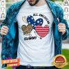 Premium Heart All American Grammy Shirt