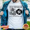 An Old Woman Who Loves Yoga And Vinyl Records Shirt