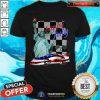 Late Model Car Happy 4th Of July Shirt