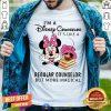 Minnie Mouse I Am Disney Counselor Magical Shirt